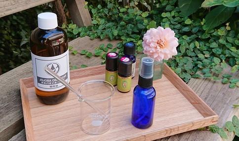 【大人気!農園内ワークショップ】手作りの化粧水と美容液でお肌をいたわりましょう