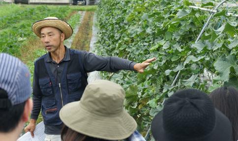 「プロ農家の畑を見学&収穫体験」 イベントに、参加してきました!