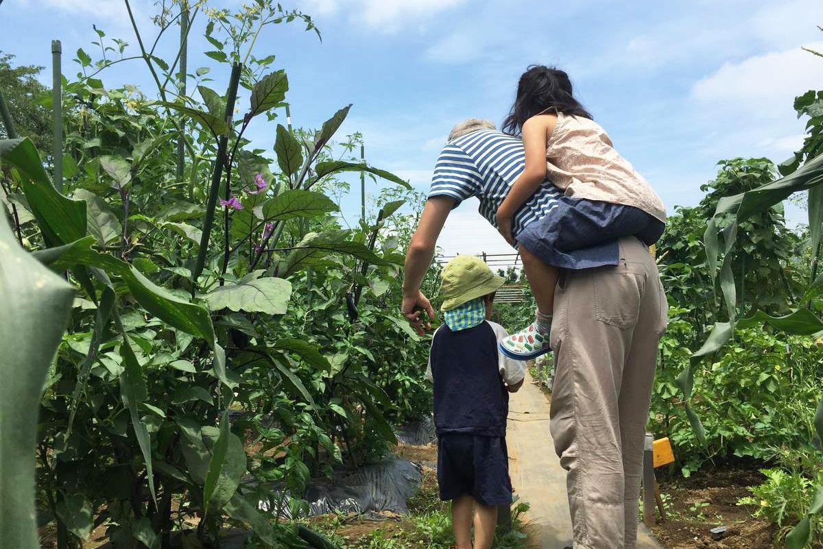 週末を農園で家族と過ごしませんか?